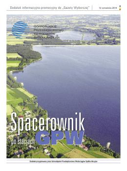Spacerownik po stacjach GPW - Górnośląskie Przedsiębiorstwo