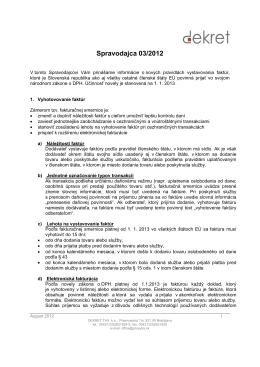 Spravodaj 03/2012