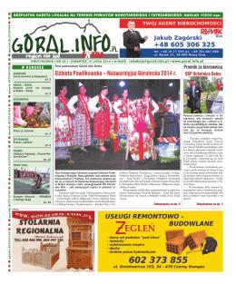 Nr 39/2014 - Goral.info.pl