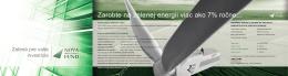 Zarobte na zelenej energii viac ako 7% ročne