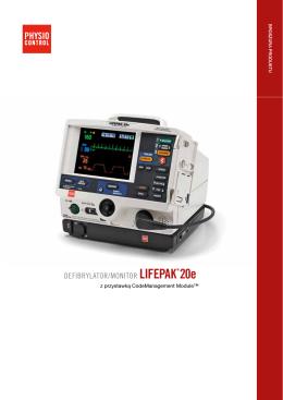 LIFEPAK 20e - Broszura (PDF)