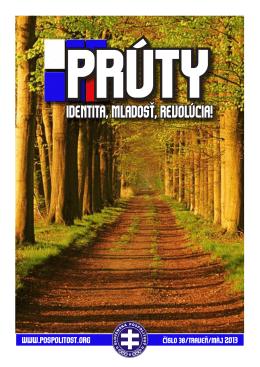 Prúty č.38. - Weblog Slovenská pospolitosť