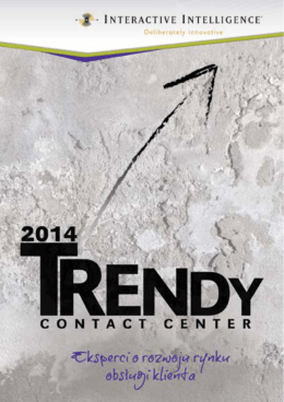 Trendy Contact Center 2014