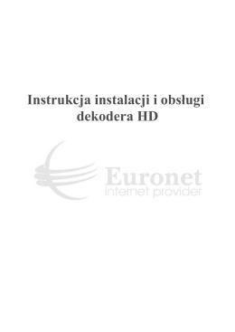 Instrukcja instalacji dekodera i obsługi portalu