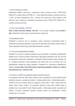 Zhrnutie zmien vyplývajúcich z novely zákona o RP