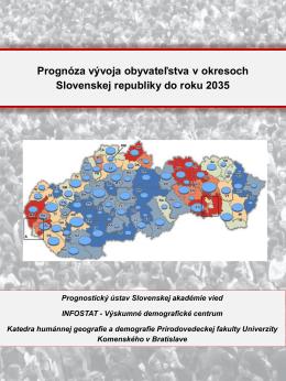 Prezentácia programu PowerPoint - Prognostický ústav Slovenskej
