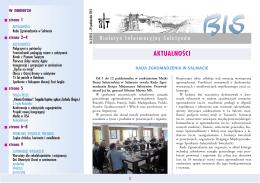 Biuletyn Informacyjny Saletynów 2013-3