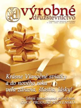 Družstevný marketing - coop produkt slovensko