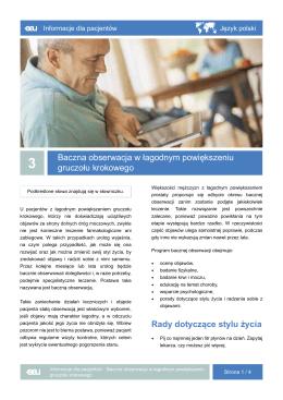 Pobierz - EAU Patient Information