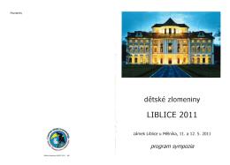 detské zlomeniny LIBLICE 2011