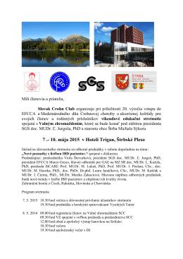 Viac info - Slovak Crohn Club