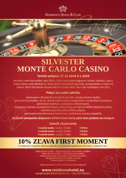 SILVESTER MONTE CARLO CASINO
