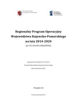 Regionalny Program Operacyjny Województwa
