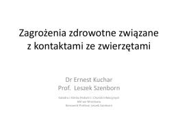 dr Ernest Kuchar