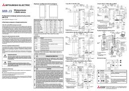 MR-J3-B - podręcznik instalacji w j. polskim