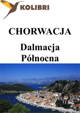 Chorwacja Dalmacja Północna