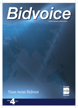Bidvoice issue 4 Polish.indd