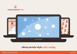 oferta portalu nf.pl: ruch i zasięg