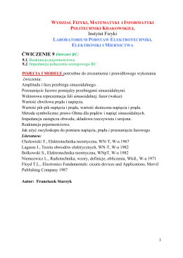 9 - Instytut Fizyki Politechniki Krakowskiej