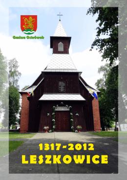 Folder informacyjny w PDF o Leszkowicach