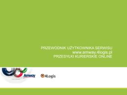 www.amway.4logis.pl