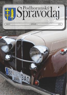02 / 2014 - Podhoranský spravodaj