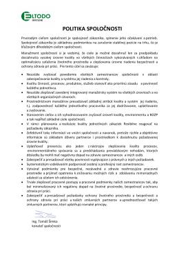 POLITIKA SPOLOČNOSTI [pdf]