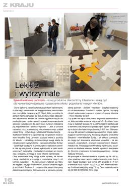 1204 Nowy Kamieniarz nr 62 (04-2012) Spieki