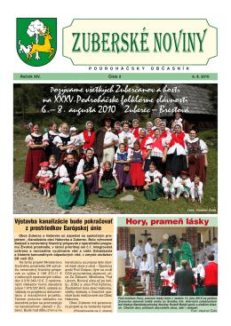 Zuberské noviny 3/2010 Formát PDF