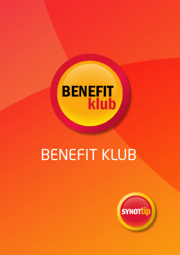 BENEFIT - SynotTIP