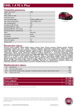 500L 1.4 95 k Plus - Fiat