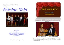 Nr 8 2010-2011 - Zespół Szkół Ogólnokształcących im. Jana