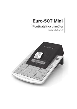 Fiskálna registračná pokladnica EURO-50 Mini