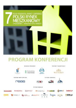 PROGRAM KONFERENCJI - Konferencje NowyAdres.pl