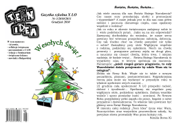 Numer 03 2010/2011 - X Liceum Ogólnokształcące w Poznaniu