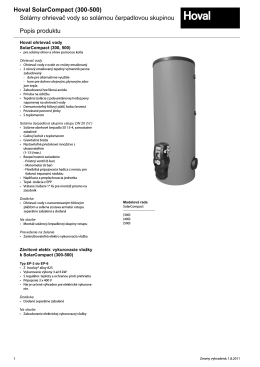 SolarCompact 300-500 katalog
