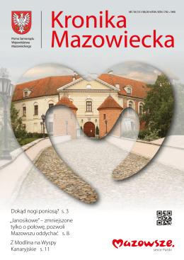 lipiec-sierpień 2014 - Samorząd Województwa Mazowieckiego / BIP