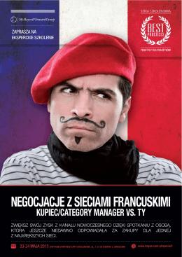 Negocjacje z sieciami fraNcuskimi