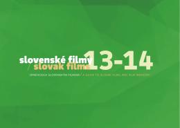 Slovenské filmy 13-14