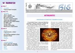 Biuletyn Informacyjny Saletynów 2015-1