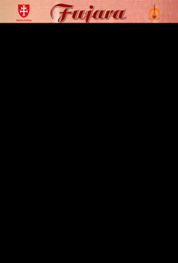 25. máj - Spoločenstvo DUŠA FUJARY