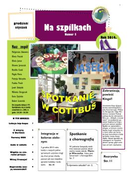 Na szpilkach - Zespół Szkół Ekologicznych im. Unii Europejskiej
