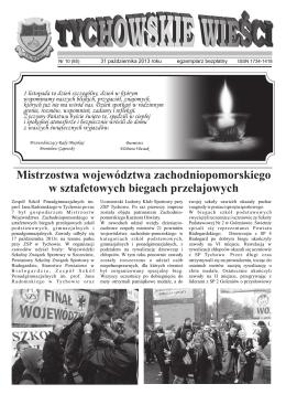 Październik - gmina Tychowo