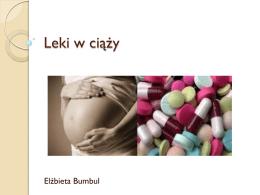 Leki w ciąży