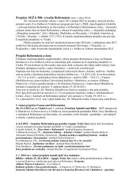 Spoločenstvo evanjelických žien - GBÚ - Palisády 46