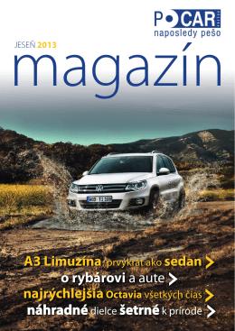 Časopis PO CAR - Jeseň 2013