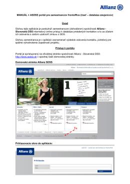 Užívateľský manuál - Portál pre zamestnancov FO (pdf)