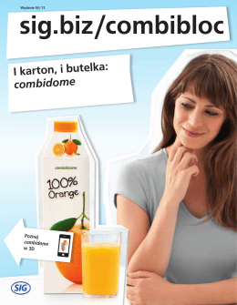 I karton, i butelka: combidome