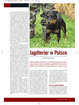 Jagdterier w Polsce - Klub Niemieckiego Teriera Myśliwskiego