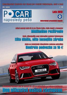 Časopis PO CAR - LETO 2013